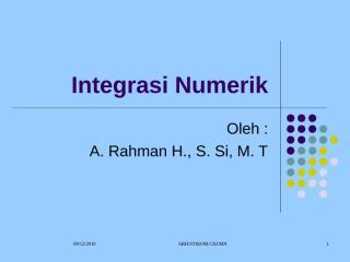 integrasi numerik-metode numerik.ppt