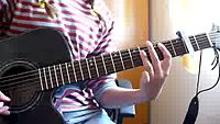 YouTube - Joe Jonas & Demi Lovato - Wouldn_t change a thing [guitar tutorial].flv