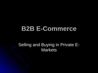 B2B E-Commerce (8).ppt