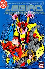 Legião dos Super Heróis 01 - Um Vilão Aqui um Vilão Ali....cbr