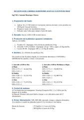 secuencia de labores agronomicas en el cultivo de maiz.doc