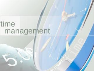 Time_Management PPT Presentation.ppt