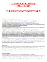 EMAIL LIST 4 - MEDIA WORLDWIDE.doc