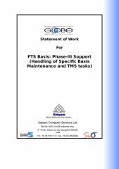 SOW-Nestle FTS Basis Phase III -V1.5 draft.doc