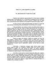 Bento XVI Santo Agostinho e os Judeus - Padre Joao Batista de a Prado Ferraz Costa.pdf