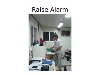 Emergency Fire Drill (2004-10-05).ppt