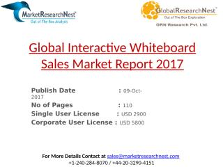 Global Interactive Whiteboard Sales Market Report 2017.pptx